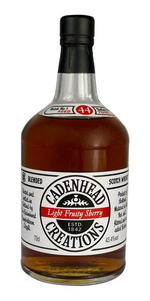 Cadenhead Creations Light Fruity Sherry, 44 Years Old