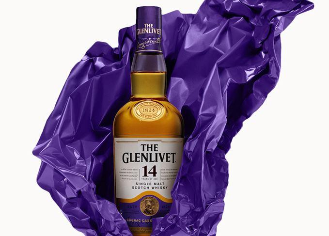 Glenlivet 14 Year Old, Cognac finished whisky