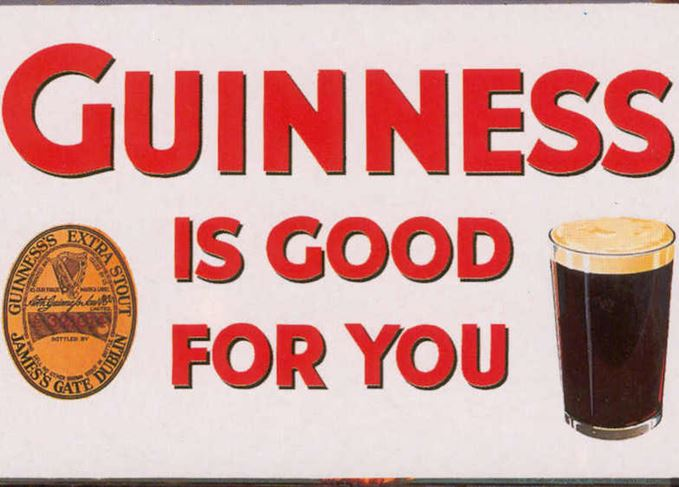 Guinness advertisement