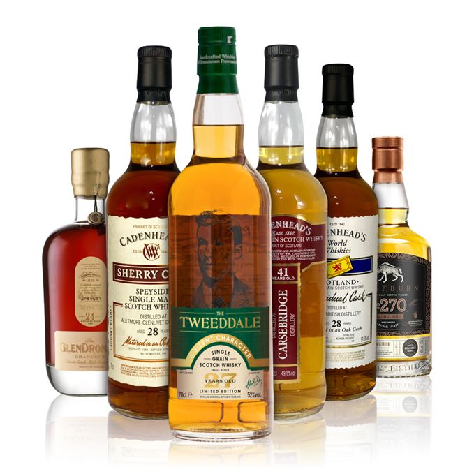 Batch 136: Aultmore, Carsebridge, Glendronach, North British, The Tweeddale, Wolfburn