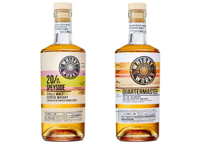 Whisky Works Quartermaster and Speyside 20 Year Old