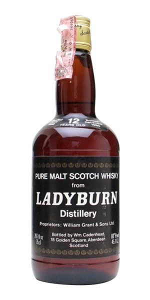 Ladyburn 12 Years Old, Bottled 1980 (Cadenhead)