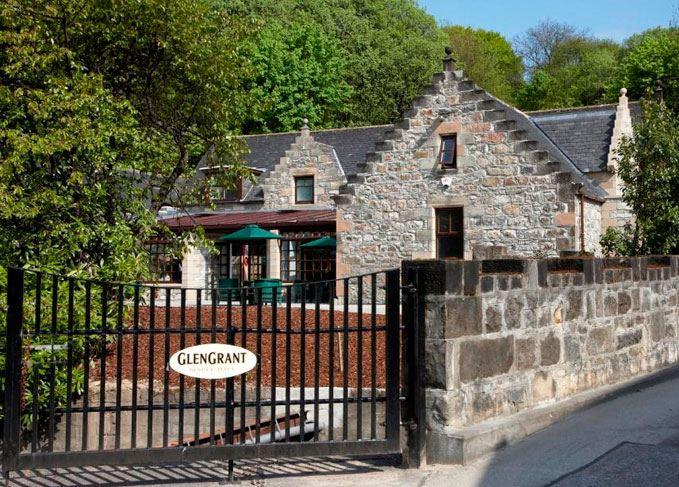 Glen Grant distillery