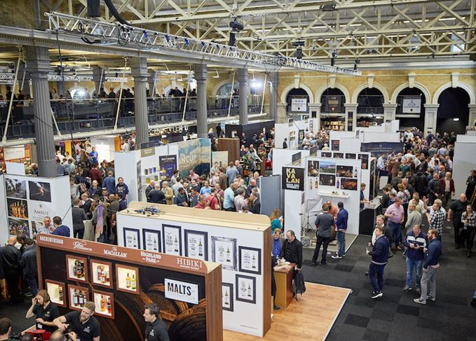 Whisky Show London survival plan