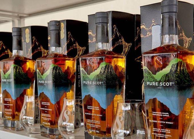 Pure Scot bottles