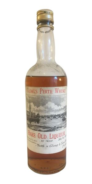 Gloag's Perth Whisky Rare Old Liqueur