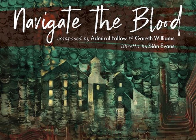 Navigate the Blood publicity poster
