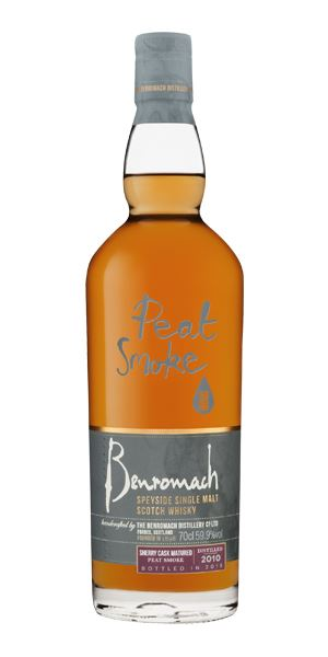 Benromach 8 Years Old, 2010, Peat Smoke Sherry Cask Matured