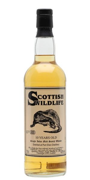 Port Ellen 10 Years Old, 'Scottish Wildlife' (Signatory Vintage)