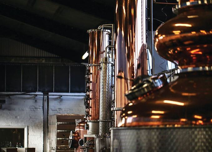 Glasgow distillery stills