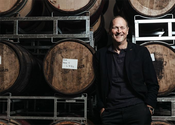 David Gates, managing director of BrewDog Distilling