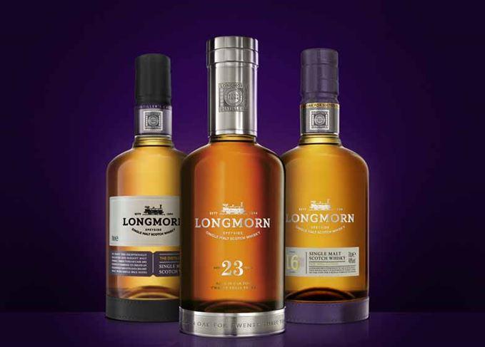 Longmorn Scotch whisky range