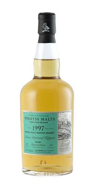 Bunnahabhain 1997, Lemon Buttered Kippers (Wemyss Malts)