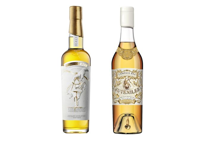 Compass Box Stranger & Stranger and Juveniles whiskies