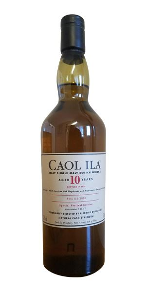 Caol Ila 10 Years Old, Fèis Ìle 2018