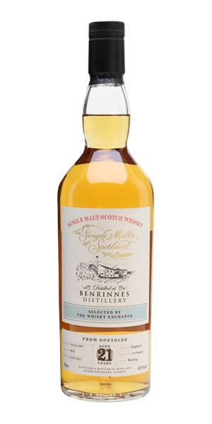 Benrinnes 21 Years Old, 1995 (Single Malts of Scotland)