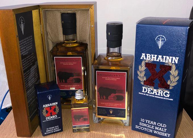 Abhainn Dearg 10 Year Old whisky