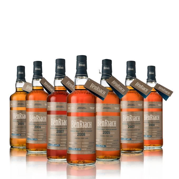 BenRiach single casks 2017 batch 14