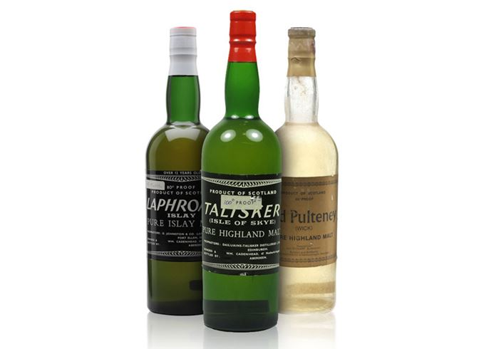 A trio of 1960s bottlings from Cadenhead