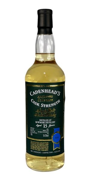 Bowmore 15 Years Old, 2002 (Cadenhead)