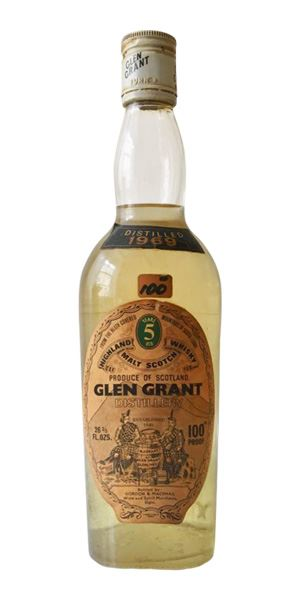 Glen Grant 5 Years Old, 1969 (Gordon & MacPhail)