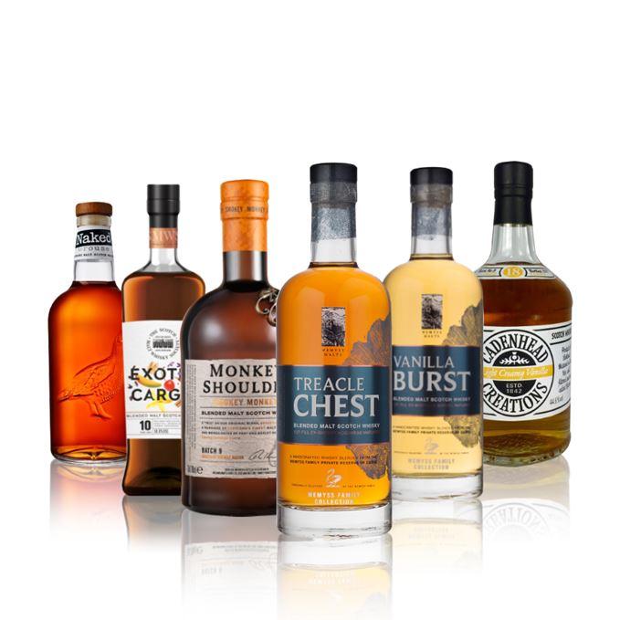 Batch 112: a battle of blended malt whiskies (plus one blend)