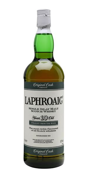 Laphroaig 10 Years Old Cask Strength 'Green Stripe'