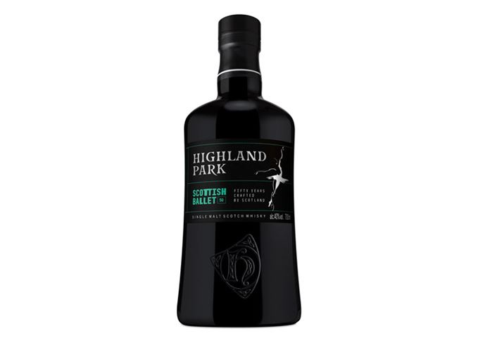 Highland Park Scottish Ballet bottle