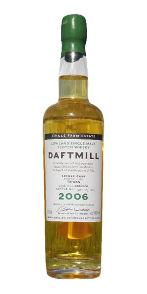 Daftmill 2006 single cask #48 (Taiwan exclusive)