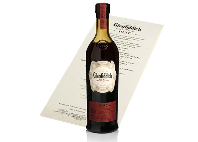 Glenfiddich Rare Collection 1937