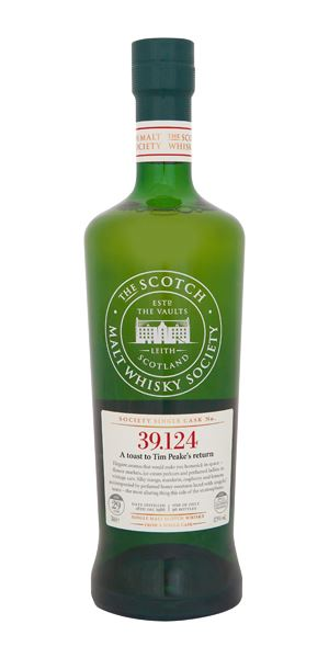 A Toast to Tim Peake's Return, 39.124, 29 Years Old (SMWS)