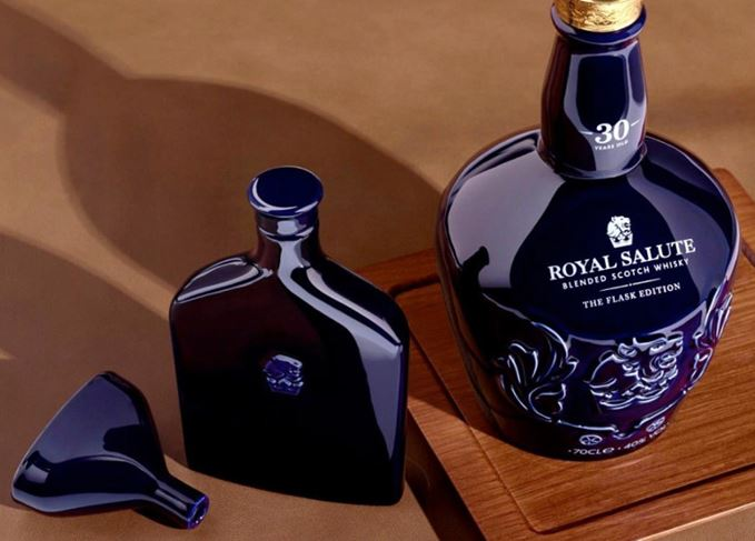 Royal Salute 30-year-old Flask Edition