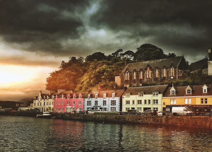 Portree in Skye, the Hebrides, home to the Hebridean Whisky Festival