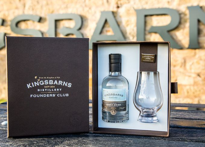 Kingsbarns' Founder's Club welcome pack