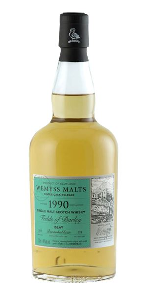 Bunnahabhain 1990, Fields of Barley (Wemyss Malts)