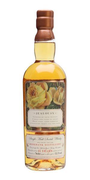 Rosebank 21 Years Old, 'Jealousy', Roses Series (Elixir Distillers)