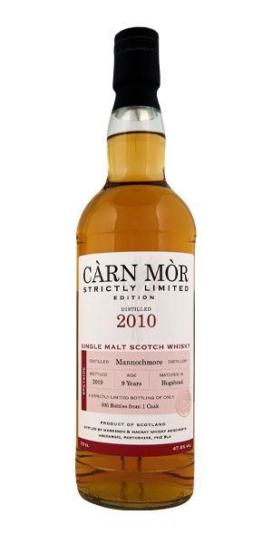 Mannochmore 9 Years Old, Càrn Mòr (Morrison & MacKay)