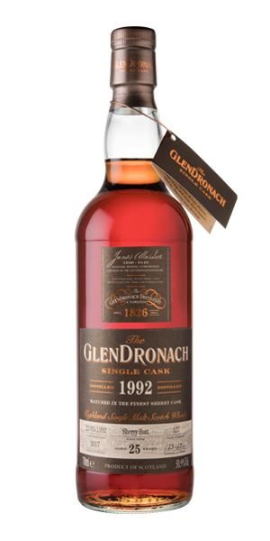 GlenDronach 25 Years Old, 1992, Cask #127