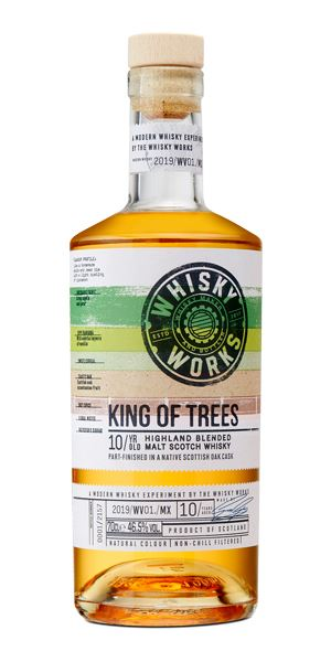 King of Trees 10 Years Old (The Whisky Works)