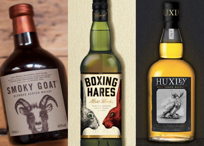 Smoky Goat, Boxing Hares, Huxley
