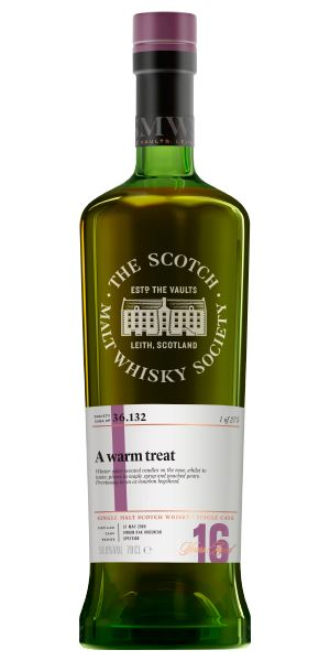 Benrinnes 16 Years Old, 36.132 A Warm Treat (SMWS)
