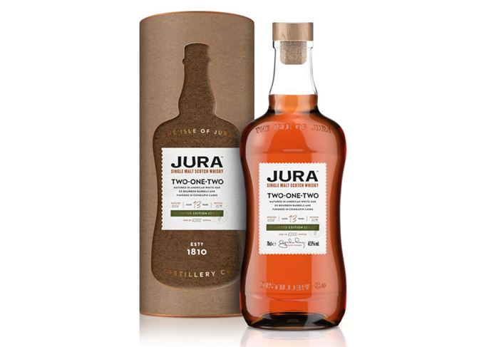 Jura Two-One-Two 13 year old chinkapin finish