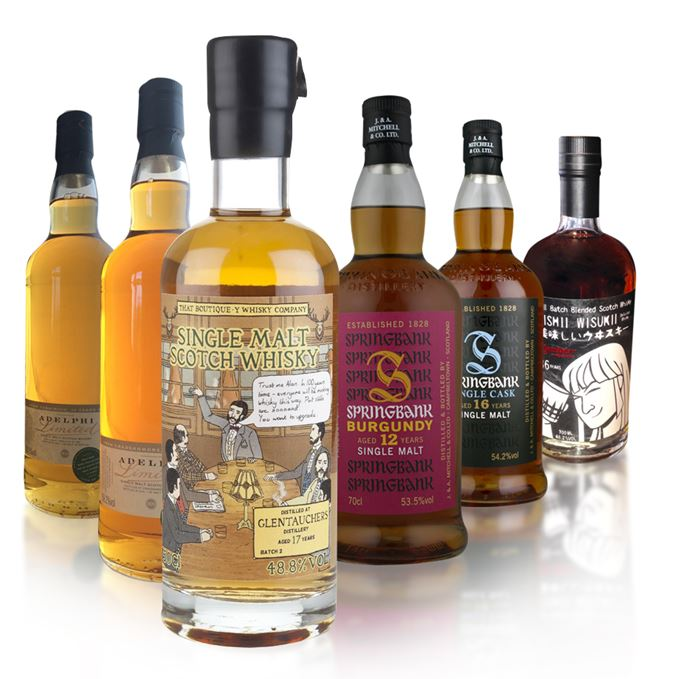 Batch 41 includes bottlings from Teaninich, Cragganmore, Springbank, Glentauchers and a Japanese-inspired blend.