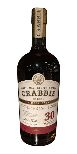 Crabbie 30 Years Old