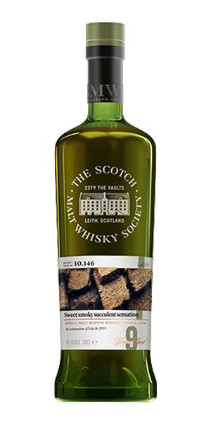 Bunnahabhain 9 Years Old, 'Sweet Smoky Succulent Sensation' 10.146 (SMWS)