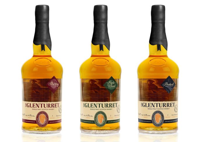 Glenturret single malt whiskies