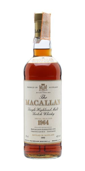 Macallan Special Selection 1964
