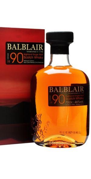 Balblair 1990 second release