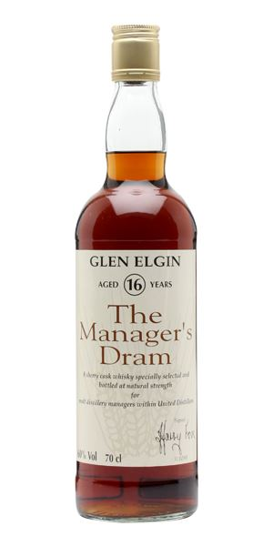 Glen Elgin 16 Years Old, Manager's Dram