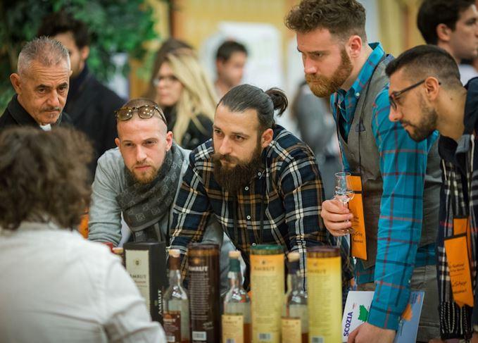 Whisky fans whisky festival